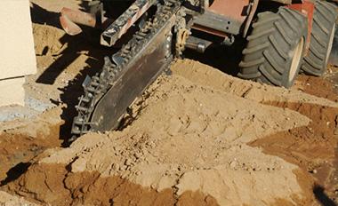 Direct irrigation Work